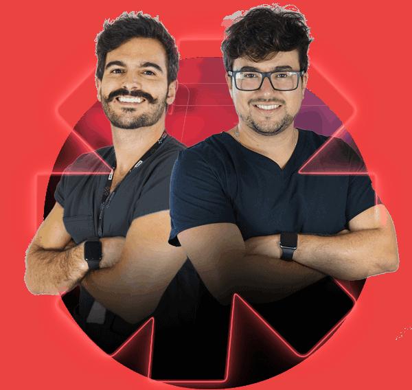Dr. Ygor Minassa e Dr. Romulo Oliveira